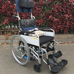 ヘッドレスト装着 チルト車椅子