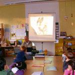 Grundschul- Unterricht am 14.2.11 Klasse 1A