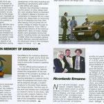 """articolo Paolo Alessandro  Fanizza""""Auto&Design"""""""
