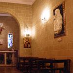 Vista del bassorilievo nella Cappella dell' Immacolata di Trinitapoli