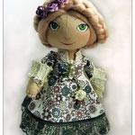 текстильная кукла Барышня