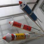 raketen imitate für eine sylvesterveranstaltung