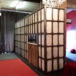 industriefensterkulisse für eine eventhalle