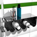 konzept eines duschregals für die firma nicol