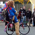 maskottchen-fahrrad für den wsv