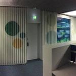 bürowandgestaltung (hier ein von vielen wänden) für vonovia