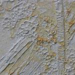 Farbfeld, 2010, 170 x 110 cm, Ausschnitt, Ölharz und Lack auf Leinwand