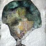 Wesensportrait, 2012, 30 x 21 cm, Lack und Aquarell auf Büttenpapier