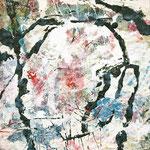 Jackson Pollock, 2008, 80 x 60 cm, Ölharz und Lack auf Rupfen