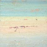 Meereslandschaft, 2004, 110 x 90 cm, Ölharz und Lack auf Leinwand