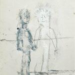 Ich und Ich, 2006, 30 x 21 cm, Gouache auf Papier