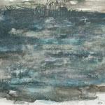 Landschaft, 2007, 40 x 50 cm, Aquarell