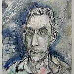 Jonas, 2017, 37 x 28 cm, Aquarell und Lack auf Büttenpapier