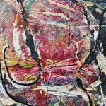 Mrs. Saltgreen, 2010, 120 x 100 cm, Ölharz und Lack auf Leinwand