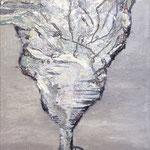 Mrs. Snowpepper-Gneissl, 2013, 140 x 90 cm, Ölharz und Lack auf Leinwand