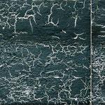 Bewegung im Raum, 2007, zweiteilig, 40 x 110 cm, Ölharz und Lack auf Leinwand