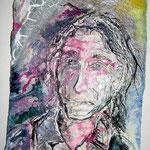 Tommi, 2016, 37 x 28 cm, Aquarell und Lack auf Büttenpapier