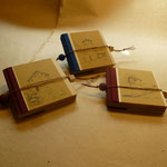 Kleine Notizbücher mit Illustration der Türme