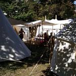 Das Lager im Pfarrgarten