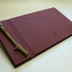 Gästebuch Japanische Bindung mit Rebe....