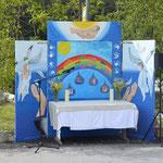 Altarbild: Kinderkrabbel-Gruppe, St. Niklaus