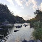 Rio Los Reartes, accesible desde el complejo caminando 100 metros por un sendero privado