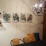 CERRADO COVID - Zona de juegos del quincho, con juegos de mesa diversos para chicos y grandes, y zona de lectura con biblioteca