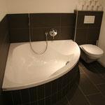 .. und grosser Badewanne