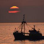 fishing at calm seas