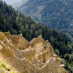 earth pyramids in tyrol