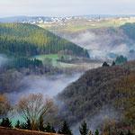 mist dissolves