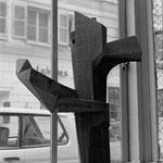 sculpture en bois - H. 70 cm