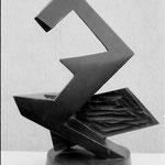 sculpture en bois - H. 50 cm