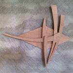 bois d'érable 35 x 35 cm