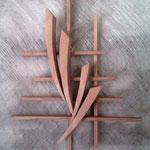 bois de cèdre 40 x 25 cm
