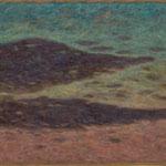 à la fin de l'été  54×81cm  l'huile sur toile  2004