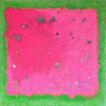 field, Mischtechnik auf Leinwand, 30 x 30 cm