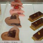 マカロンのハートケーキ(ヴァレンタイン)