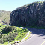Federal Highway in Richtung Ensenada