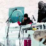 Festival de musique sur glace (2015, Norvège): atelier pour enfants