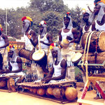 Landaya during the Fespaco in Ouagadougou, February 1997