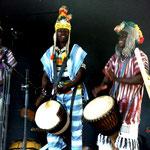 Consa in wien 1999 (Siaka Keita, Mamadou, Moussa Coulibaly und Karim Sanou)