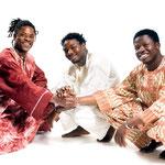 2006: Karim Sanou, Lous Sanou, Mamadou Diabate. Foto: Fritz Holoubek