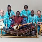 2019: Klaus Ambrosch, Cheikh Ibrahima Fall, Mamadou Diabate, Hamidou Koita, Yacouba Konate, Alex Meik. Photo: Ursula Roeck
