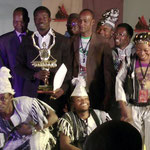 The Award ceremony at the Triangle du Balafon in Mali (2012)