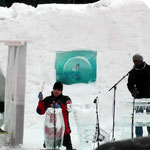 Festival de musique sur glace (2015, Norvège): concert