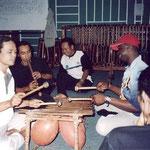 Rehearsal with Samba Sunda at STSI / Bandung