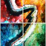 """""""Chemin des couleurs"""" Format 120 x 160"""