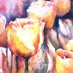 """""""Tulipes jaunes"""" Format 40 x 50"""