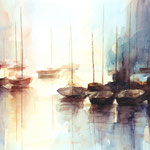 """ Lumière marine"" Format 60 x 80"